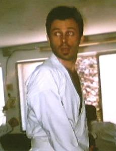 During my black belt examination, Gallarate (IT), June 2005