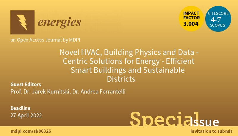 Special Issue on HVAC andSustainability
